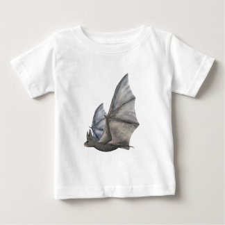 Bat In Side Profile with Wings in Upstroke Baby T-Shirt