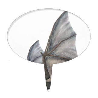 Bat In Side Profile with Wings in Upstroke Cake Topper