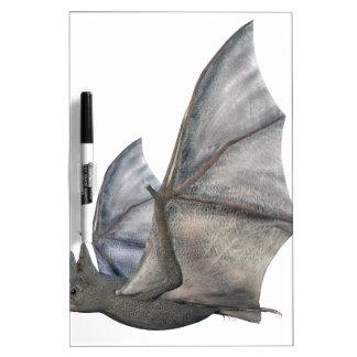Bat In Side Profile with Wings in Upstroke Dry-Erase Board