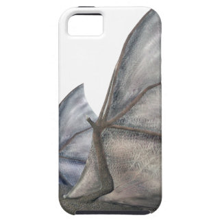 Bat In Side Profile with Wings in Upstroke iPhone SE/5/5s Case