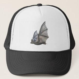 Bat In Side Profile with Wings in Upstroke Trucker Hat