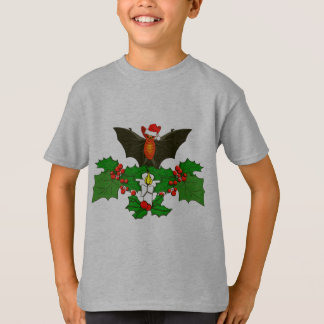 Bat In The Holly T-Shirt