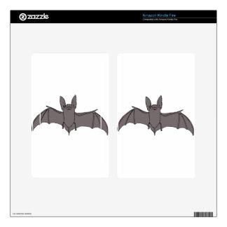 Bat Kindle Fire Decals