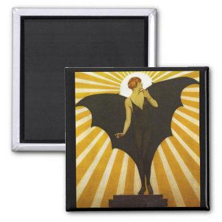 Bat Lady Magnet