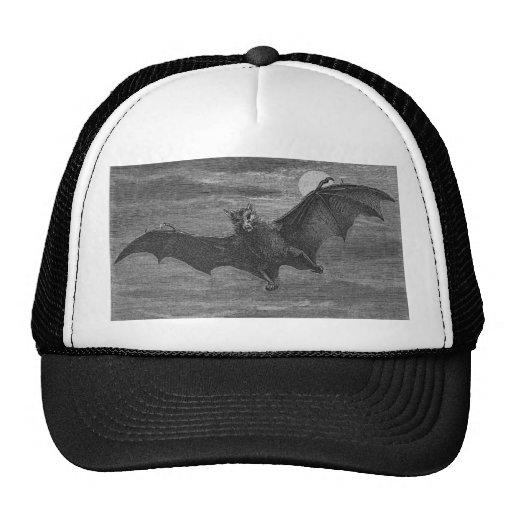 Bat Lithograph Trucker Hats