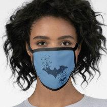 Bat Logo Bursting Into Bats Face Mask