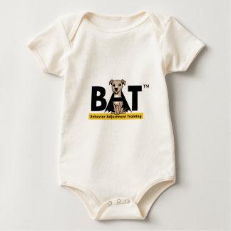 BAT logo gear Baby Bodysuit