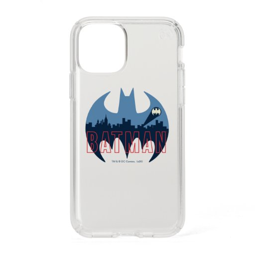 Bat Logo With Gotham & Bat Signal Speck iPhone 11 Pro Case