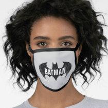 Bat Logo With Gotham Etching Face Mask