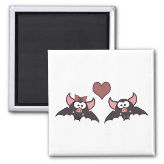 Bat love magnet