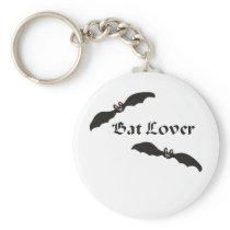 Bat Lover Design Keychain