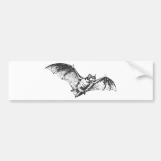 Bat Mark Bumper Sticker