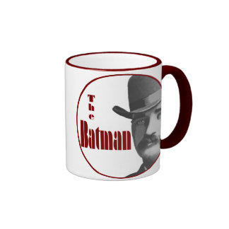 Bat Masterson Ringer Coffee Mug