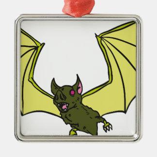 Bat Metal Ornament