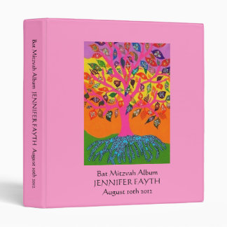Bat Mitzvah Album - Tree of Life Binder