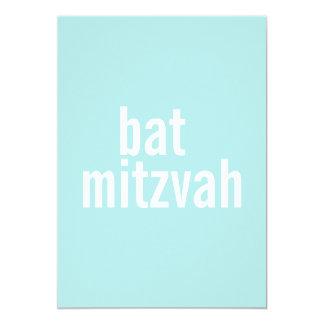 Bat Mitzvah Announcements {Light Teal}