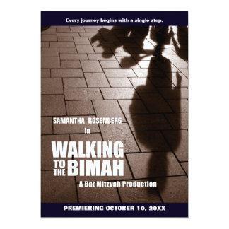 Bat Mitzvah Bimah Invitation