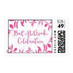 Bat Mitzvah Celebration Stamp