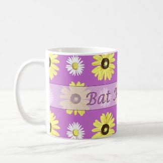 Bat Mitzvah Daisies Radiant Orchid Mug