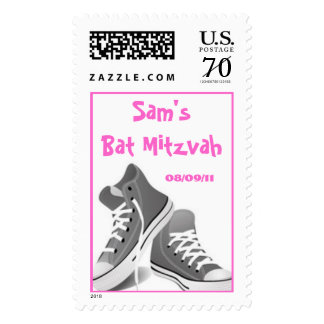 Bat Mitzvah Girl Postage