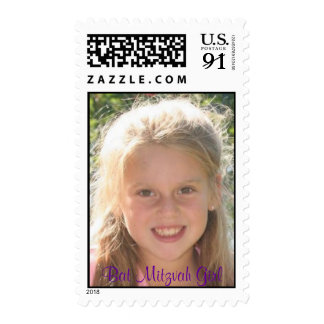 Bat Mitzvah Girl Postage