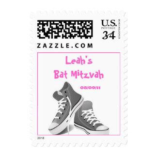 Bat Mitzvah Girl Postage Stamp
