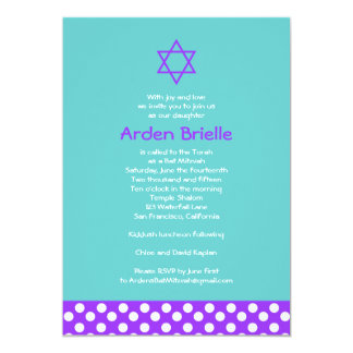 Bat Mitzvah Invitation Arden Mandy