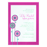 Bat Mitzvah Invitation Lily Rachel Hebrew