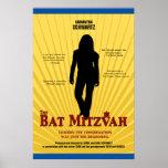 Bat Mitzvah Movie Star Poster