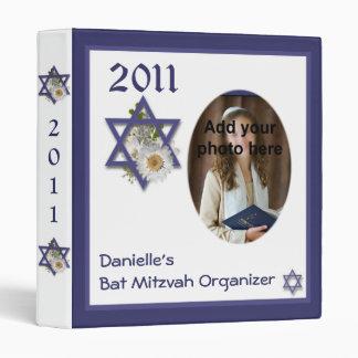 Bat Mitzvah Organizing Binder Scrapbook keepsake