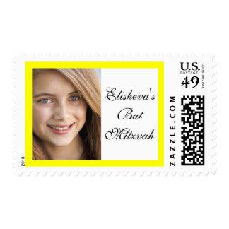 Bat Mitzvah Photo Stamp