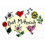 Bat Mitzvah Postcards