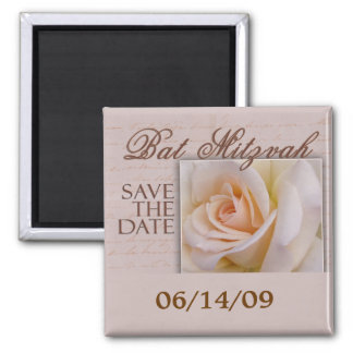 Bat Mitzvah Save The Date Magnet
