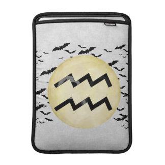 Bat Moon Aquarius MacBook Air Sleeve