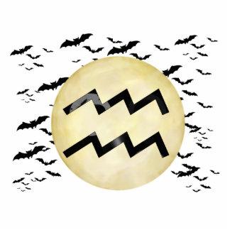 Bat Moon Aquarius Statuette