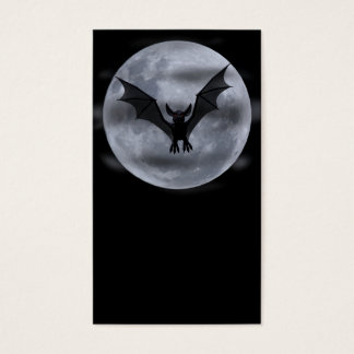Bat Moon Business Card