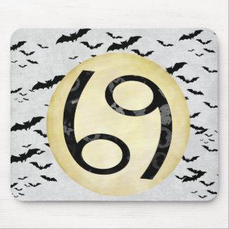 Bat Moon Cancer Mouse Pad