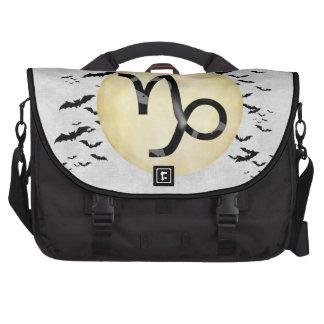 Bat Moon Capricorn Computer Bag