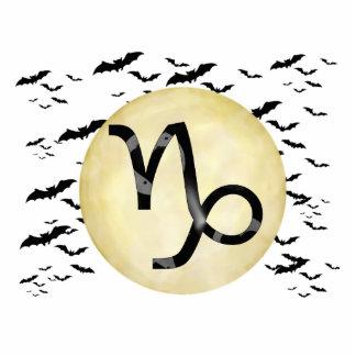 Bat Moon Capricorn Statuette