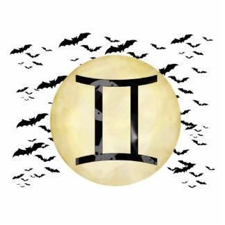 Bat Moon Gemini Cutout