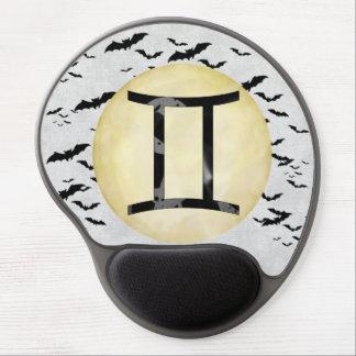 Bat Moon Gemini Gel Mouse Pad