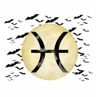 Bat Moon Pisces Statuette
