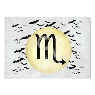 Bat Moon Scorpio Card