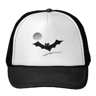 BAT & MOON transparent (pick a background color!) Trucker Hat