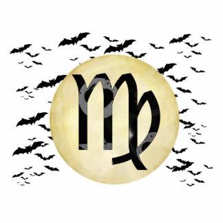 Bat Moon Virgo Cutout