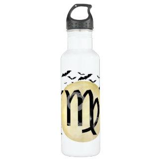 Bat Moon Virgo Water Bottle