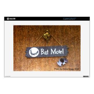 "Bat Motel Skin For 15"" Laptop"