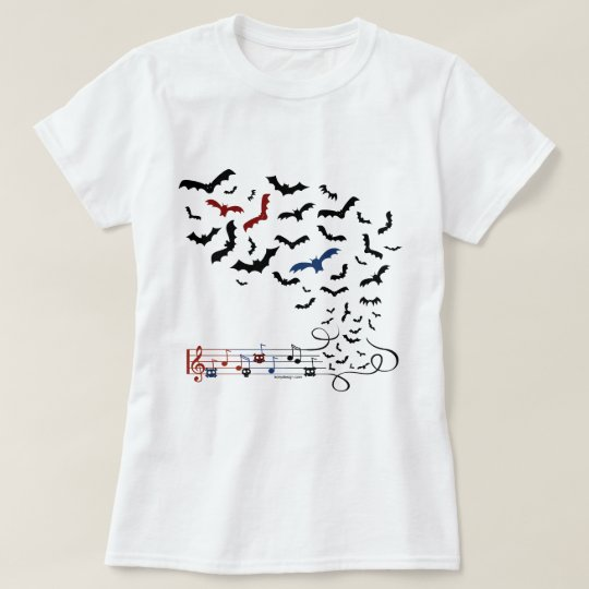 Bat Music Design 2 T-Shirt