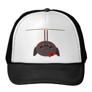 bat on a wire vampire mesh hats