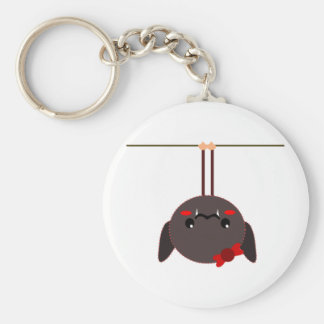bat on a wire vampire key chains